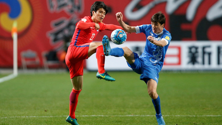 الشمشون الكوري يعزز آماله في بلوغ مونديال 2018