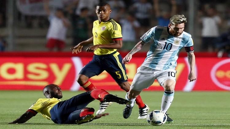 روسيا 2018.. الأرجنتين تعود إلى سكة الانتصارات من بوابة كولومبيا
