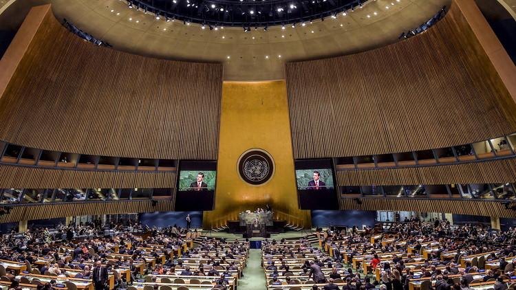 الجمعية العامة تتبنى قرارات ضد سوريا وروسيا وإيران