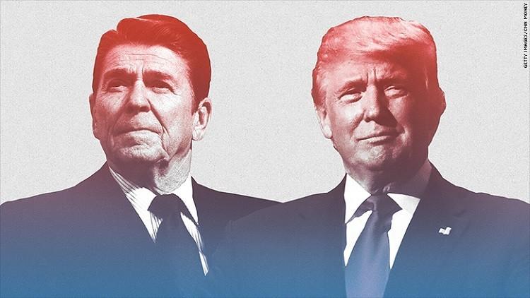 هل دونالد ترامب هو رونالد ريغان جديد؟