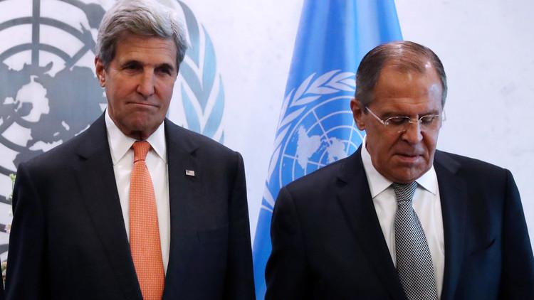 لافروف وكيري يلتقيان لبحث الوضع في حلب
