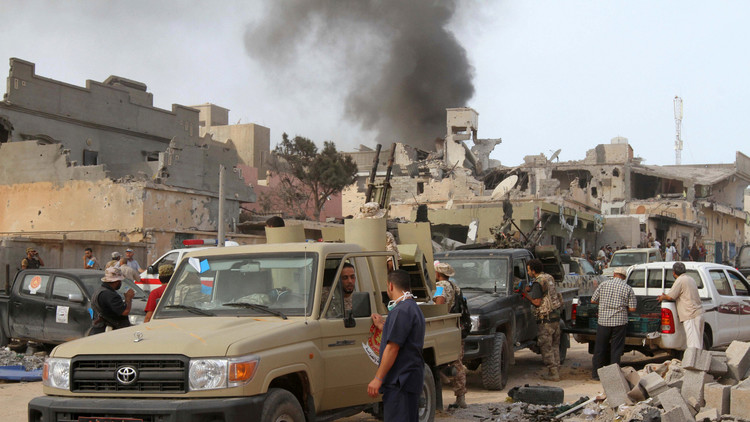 ليبيا: 6 قتلى في غارة مجهولة استهدفت إرهابيين