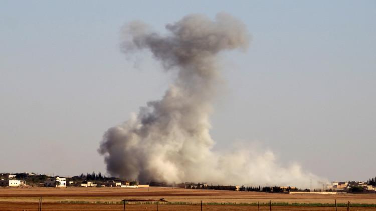 قتلى وجرحى من المعارضة السورية بتفجير مفخخة في اعزاز بريف حلب