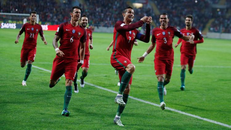 رونالدو يتصدر قائمة هدافي تصفيات أوروبا المؤهلة لمونديال 2018