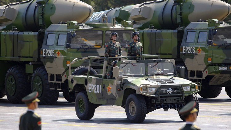 زيادة المخاوف الأمريكية من تنامي قدرات الصين العسكرية 582de96bc3618866558b45a2