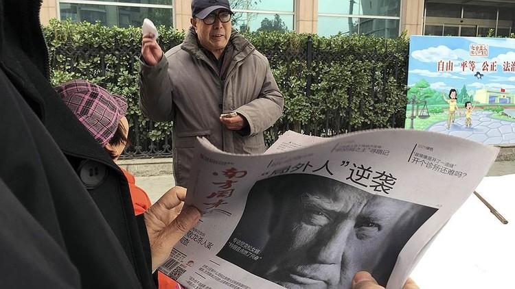 تحذير دونالد ترامب الصيني
