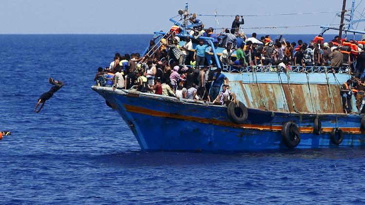 البحر يبتلع 5 آلاف مهاجر إلى أوروبا هذا العام