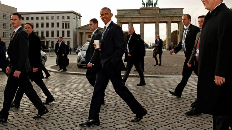 أوباما وقادة أوروبيون