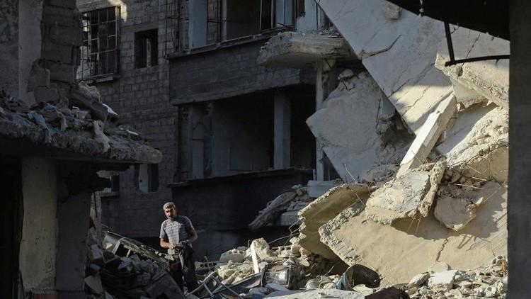 سانا: 5 قتلى جراء قصف للأحياء السكنية في دمشق وحلب
