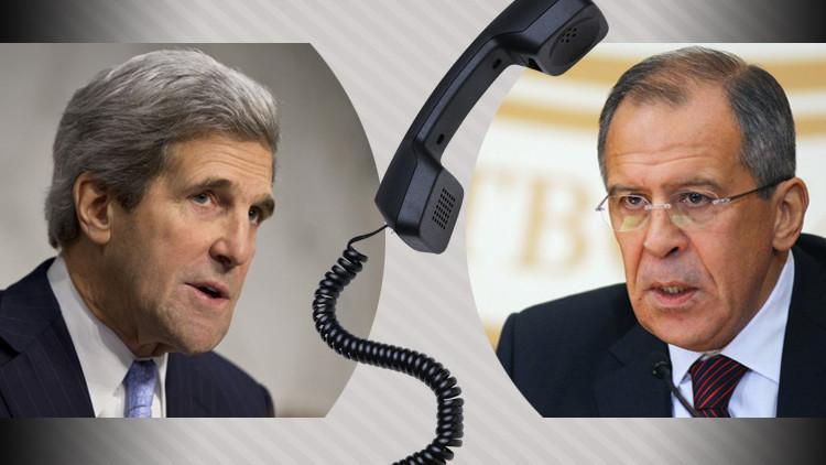 لافروف وكيري يبحثان هاتفيا التسوية في سوريا