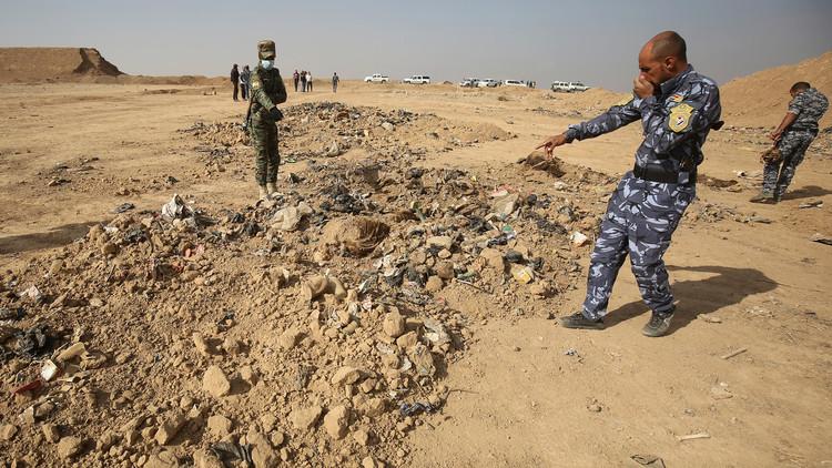 اكتشاف مقبرة جماعية لضحايا