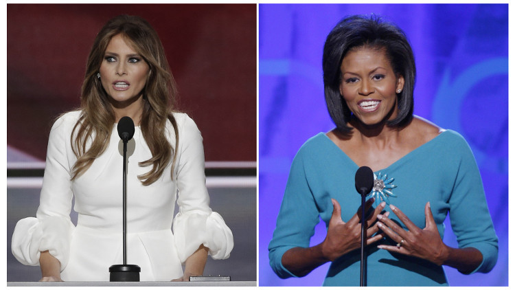 مصممة أزياء ميشال أوباما تدعو زميلاتها إلى مقاطعة ميلانيا ترامب