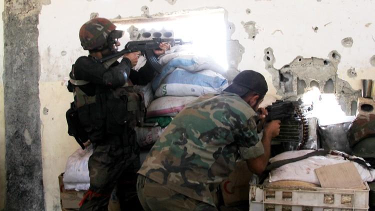معارك الجيش السوري متواصلة في ريفي حلب وحمص