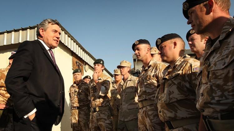 صحيفة: حكومة غوردن براون سعت لحماية مسؤولين بريطانيين ضالعين في قرار اجتياح العراق