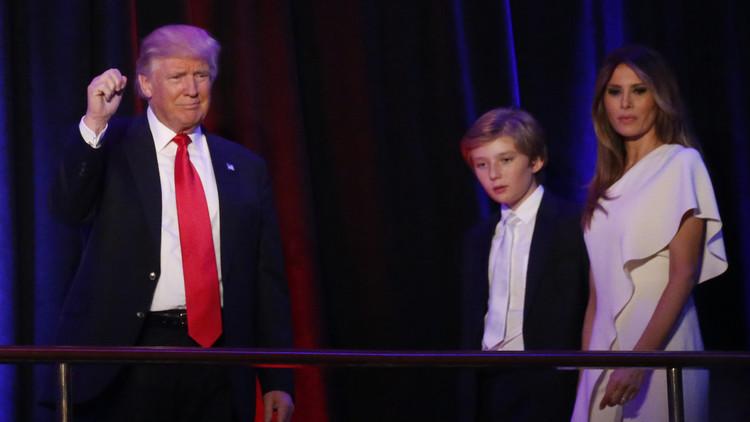 وسائل إعلام: زوجة ترامب وابنها لن ينتقلا إلى البيت الأبيض