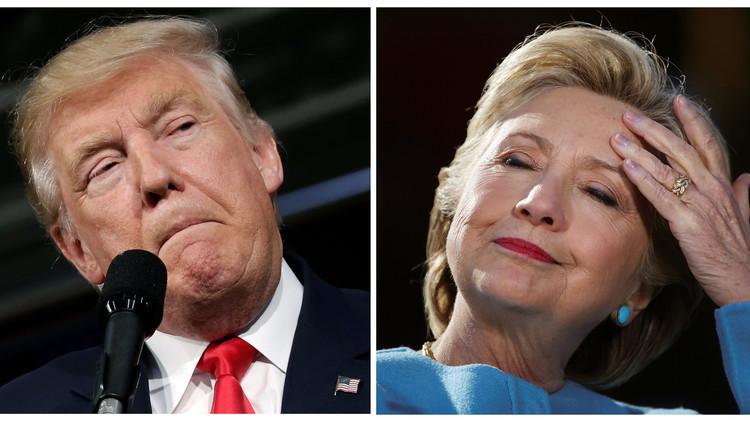 كلينتون تتقدم على ترامب في انتخابات الرئاسة بمليون ونصف من أصوات الناخبين