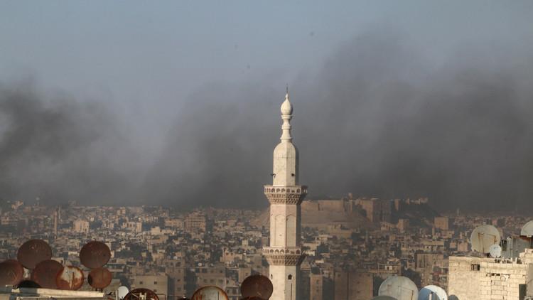 الدفاع الروسية تقدم أدلة على استخدام المسلحين الكيمياوي في حلب