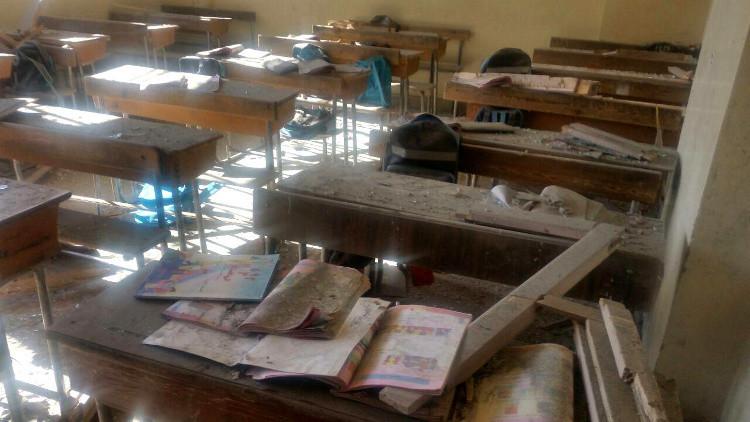 مأساة مدرسة الفرقان بحلب.. ومعارك مستمرة في مناطق مختلفة بسوريا