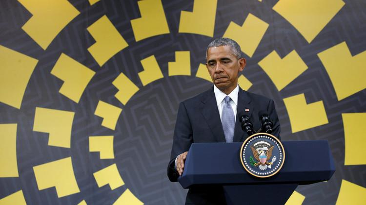 أوباما: التدخل العسكري في سوريا سيكون خطأ استراتيجيا