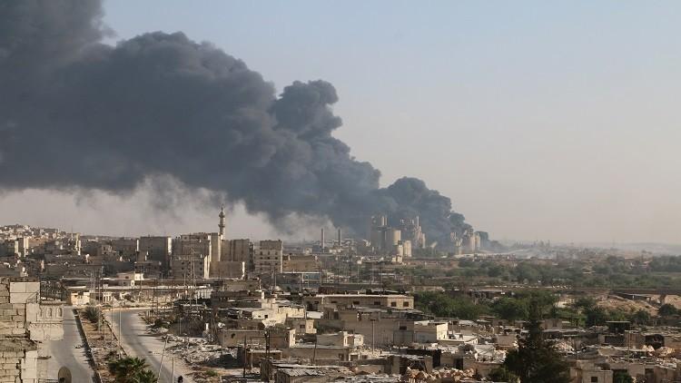 كارثة في الجزء الشرقي من حلب