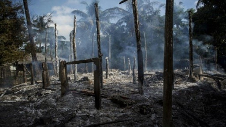 HRW: تدمير مزيد من قرى المسلمين الروهينغا غرب بورما