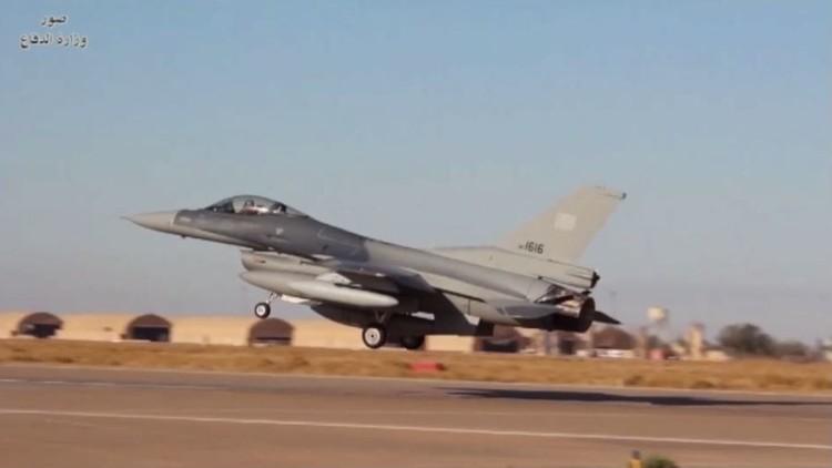 العراق يتسلم أربع مقاتلات إف 16 الأمريكية