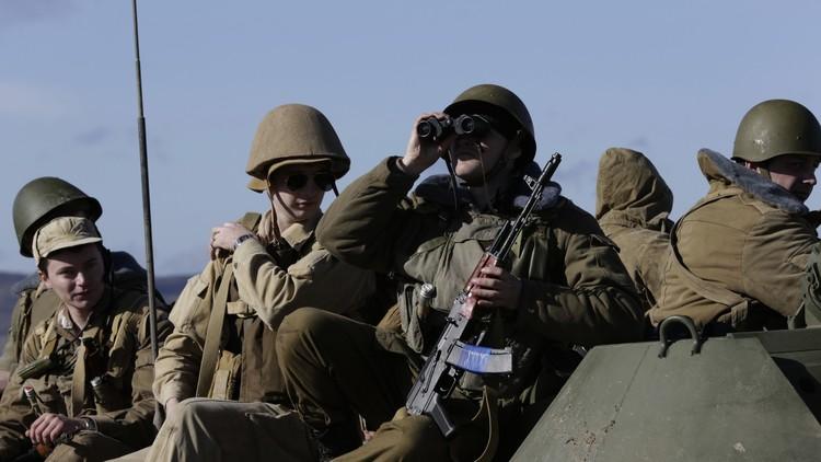 الدفاع الروسية: أجهزة الأمن الأوكرانية اختطفت عسكريين روسيين في القرم