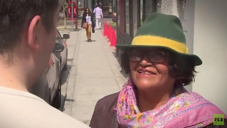 سيدة بيروفية: تحققت أمنيتي بتسليم هديتي لبوتين