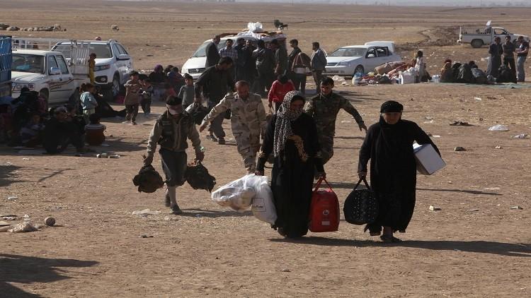 الأمم المتحدة: نزوح نحو 70 ألف عراقي من الموصل