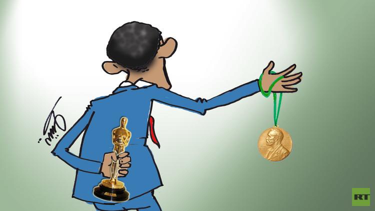 نهاية رئيس حصل على جائزة نوبل!