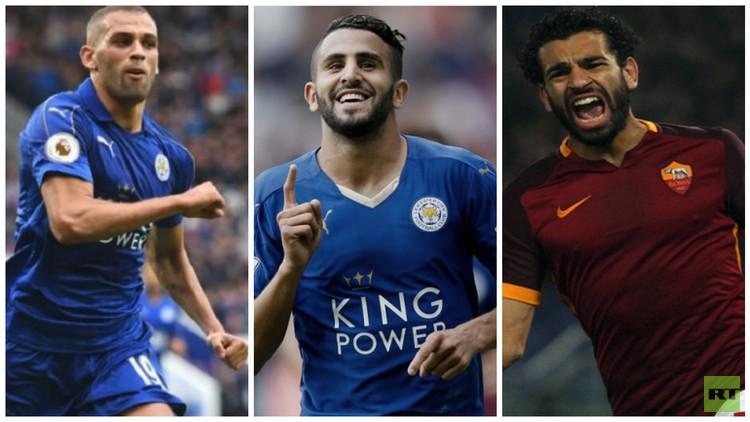 3 عرب في القائمة النهائية لجائزة أفضل لاعب أفريقي