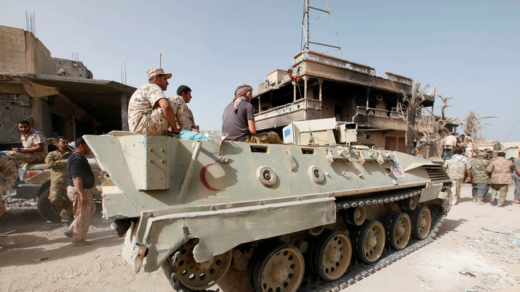 توغل القوات الحكومية في آخر محور يسيطر عليه