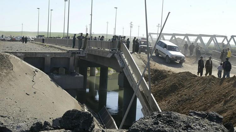 غارة للتحالف الدولي تدمر جسرا على دجلة