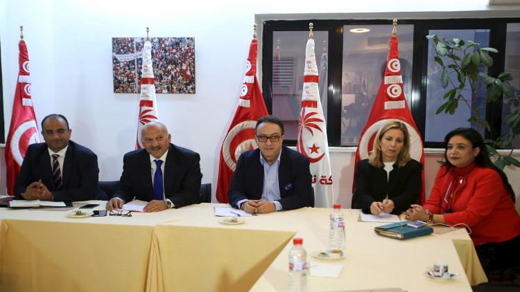 أزمة جديدة تعصف بالحزب الحاكم في تونس