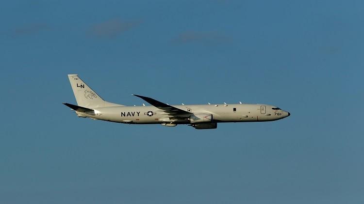 طائرات التجسس الأمريكية تراقب الأسطول الروسي في المتوسط