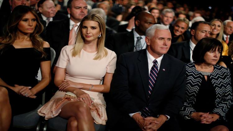 إيفانكا ترامب تخطف من أبيها أنظار الزعماء
