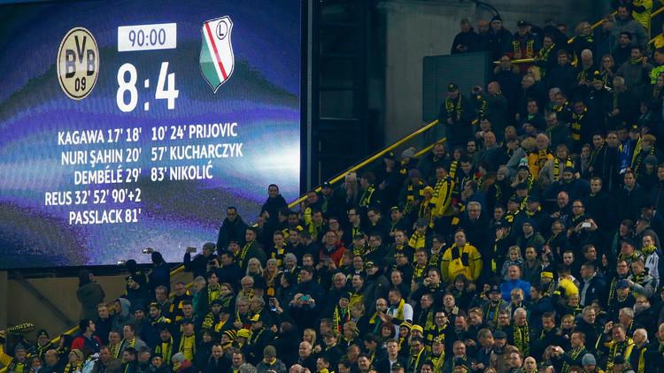 دورتموند - ليغيا.. المباراة الأعلى تهديفا في تاريخ أبطال أوروبا