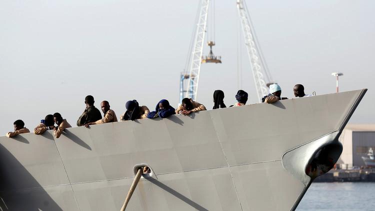 فرقاطة إسبانية تنقذ أكثر من 200 مهاجر قبالة سواحل ليبيا