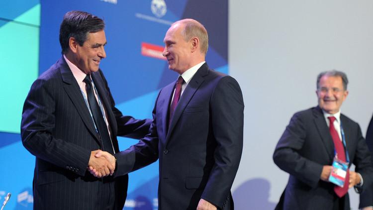 بوتين يرحب بنية فيون وجوبيه تحسين العلاقات مع روسيا