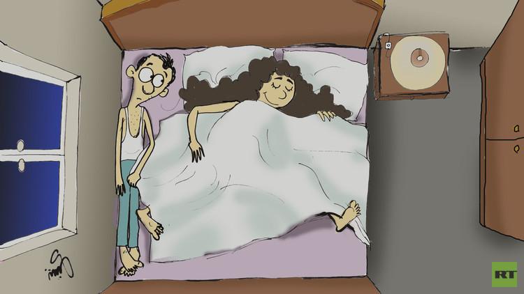 النوم بجانب الشريك يضاعف خطر الإصابة بأمراض قاتلة!