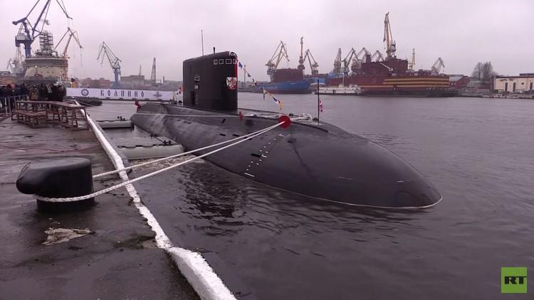 أسطول البحر الأسود يتسلم الغواصة الـ6 والأخيرة من مشروع