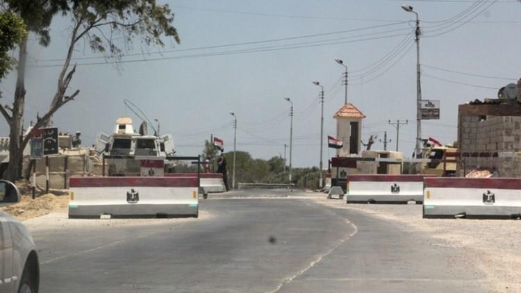 مقتل 3 جنود بهجوم استهدف نقطة تفتيش في العريش