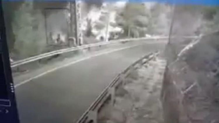 كاميرات مراقبة ترصد شرارة حرائق إسرائيل الأولى