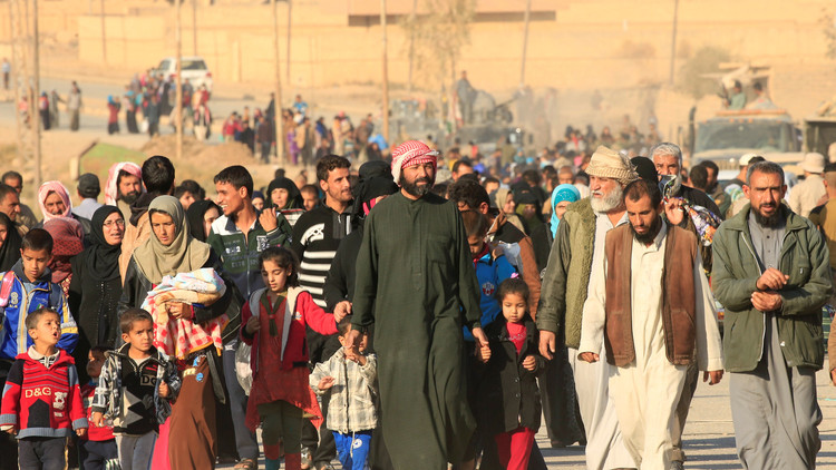 الموصل ستورِّد مئات الألوف من اللاجئين
