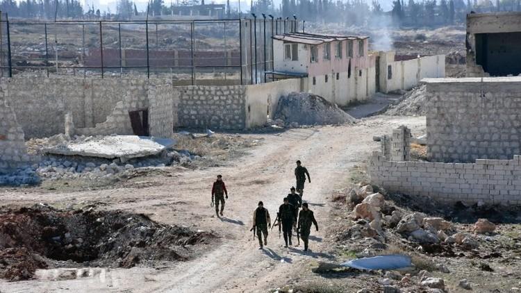 الجيش السوري يتقدم في شرق حلب