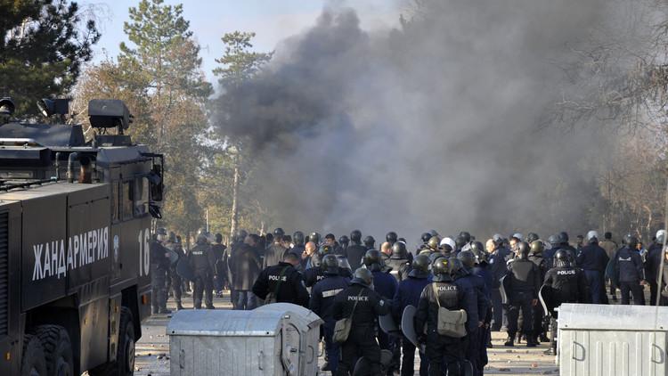 بلغاريا تحتجز مهاجرين داخل مخيمات مغلقة