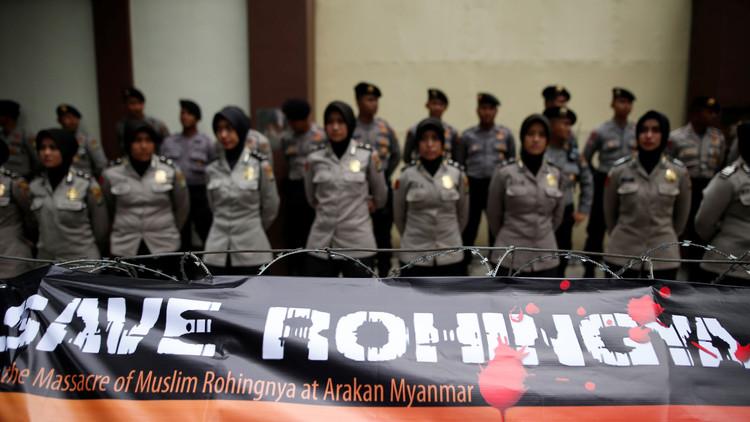 مظاهرات في آسيا احتجاجا على اضطهاد المسلمين في ميانمار