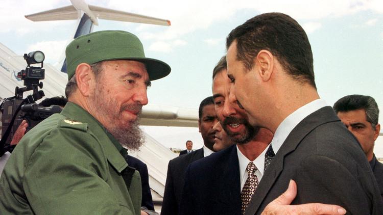 الأسد: كاسترو سيبقى ملهما للشعوب الطامحة إلى الاستقلال والتحرر