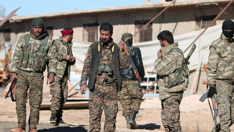 انفجارات في معسكر مشترك للأكراد والتحالف الدولي في سوريا
