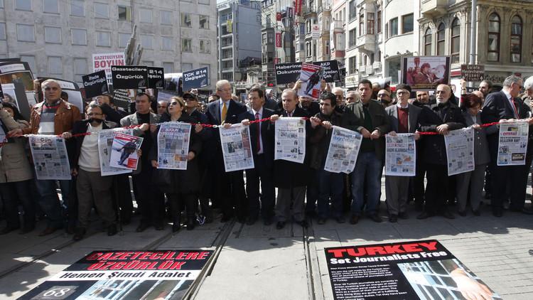 اعتقال صحفية القسم التركي  لـ